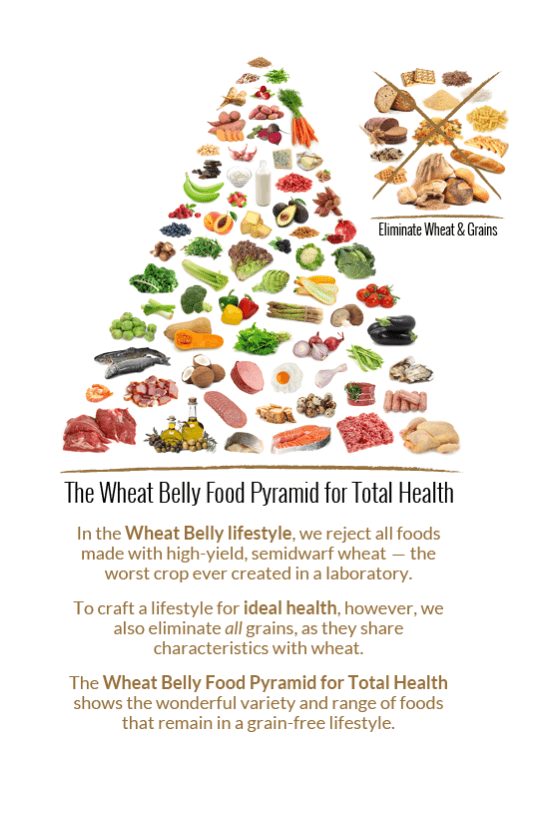 The Wheat Belly Food Pyramid | Dr. William Davis