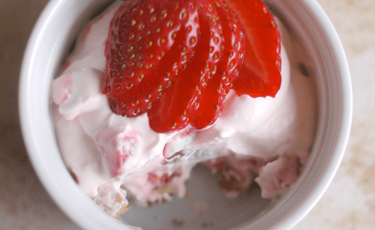 Melissa's No-Bake Strawberry Cheesecake | Dr. William Davis