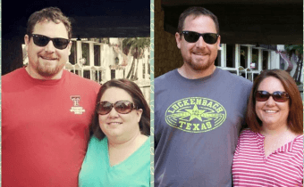 Couple down 80 pounds by rejecting wheat and grains