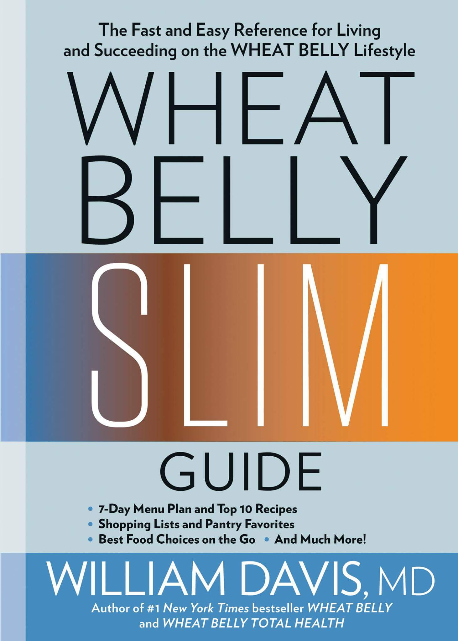 Wheat Belly Slim Guide now available! | Dr. William Davis